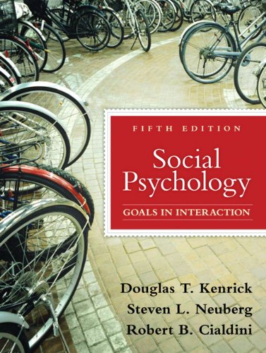9780205698073: Social Psychology: Goals in Interaction (5th Edition)