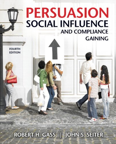 9780205698189: Persuasion, Social Influence, and Compliance Gaining (4th Edition)