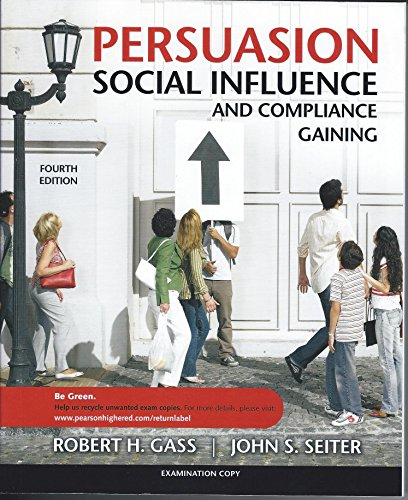 9780205698226: Persuasion Social Influence and Compliance Gaining Exam Copy