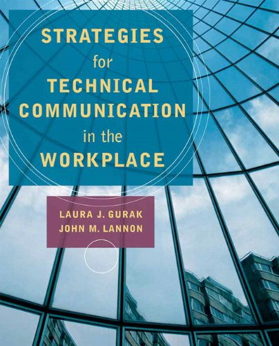 9780205698240: Strategies for Technical Communication in the Workplace