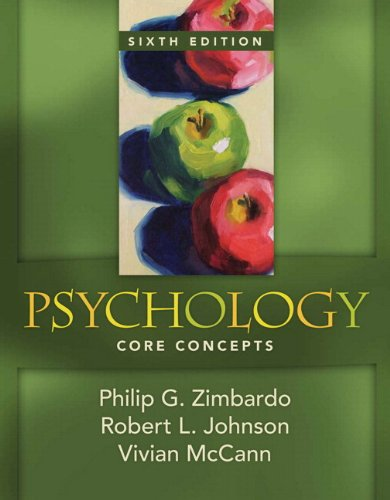 9780205698417: MyPsychLab with Pearson eText -- Standalone Access Card -- for Psychology: Core Concepts (6th Edition)