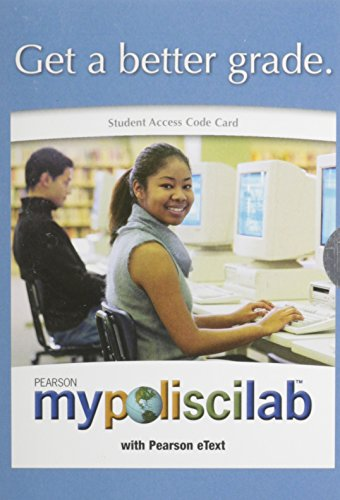 MyPoliSciLab With Pearson eText - Valuepack Access Card: Pearson