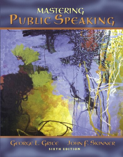 9780205698899: MySpeechLab with Pearson eText -- Standalone Access Card -- for Mastering Public Speaking
