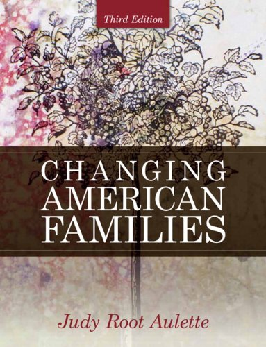 9780205699476: Changing American Families (3rd Edition)