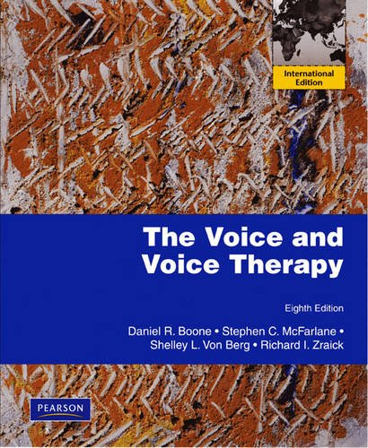 9780205699902: The Voice and Voice Therapy: International Edition