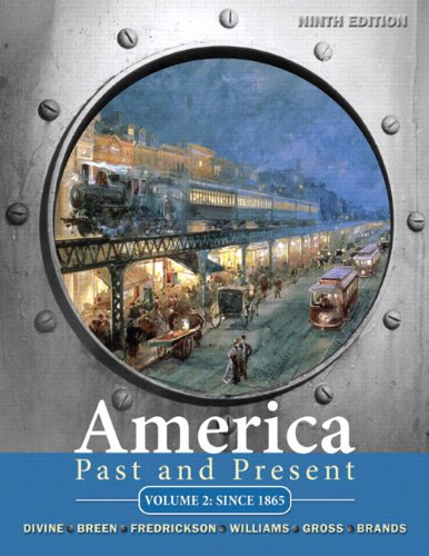 America Past and Present: Robert A. Divine;