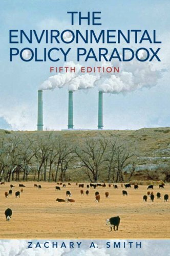 9780205700349: Environmental Policy Paradox- (Value Pack w/MySearchLab) (5th Edition)