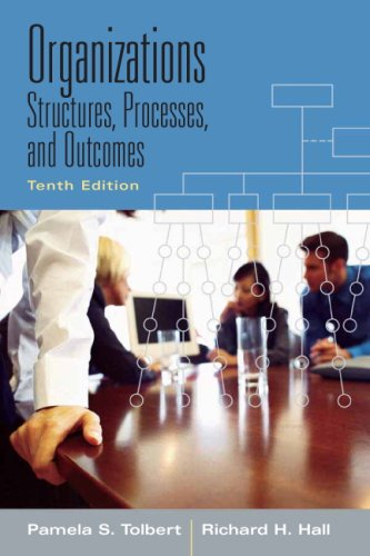 9780205700455: Organizations: Structures, Processes And Outcomes- (Value Pack w/MySearchLab) (10th Edition)