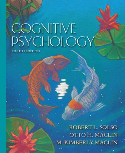 9780205700714: Cognitive Psychology- (Value Pack w/MySearchLab) (8th Edition)