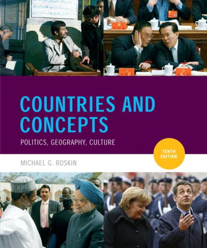 9780205701148: Countries and Concepts: Politics, Geography, Culture [With Mysearchlab]