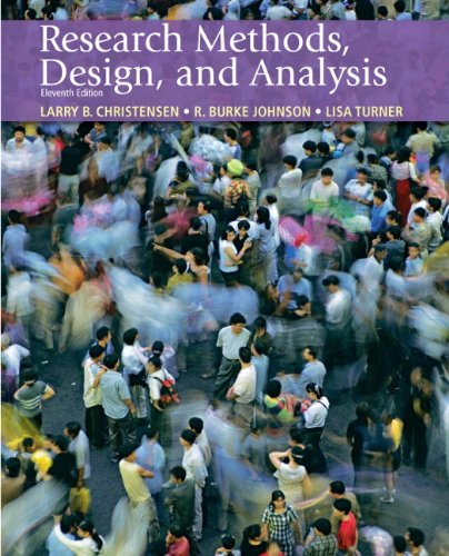 9780205701650: Research Methods, Design, and Analysis, 11th Edition
