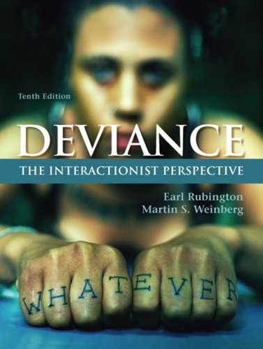9780205702671: Deviance: The Interactionist Perspective- (Value Pack w/MySearchLab) (10th Edition)