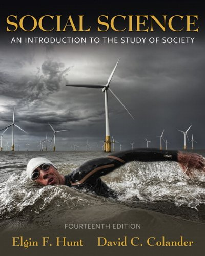 9780205702718: Social Science: An Introduction to the Study of Society (14th Edition)