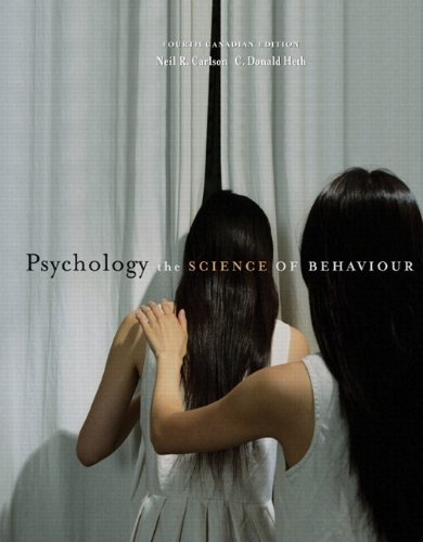 9780205702862: Psychology: The Science of Behaviour, Fourth Canadian Edition with MyPsychLab (4th Edition)