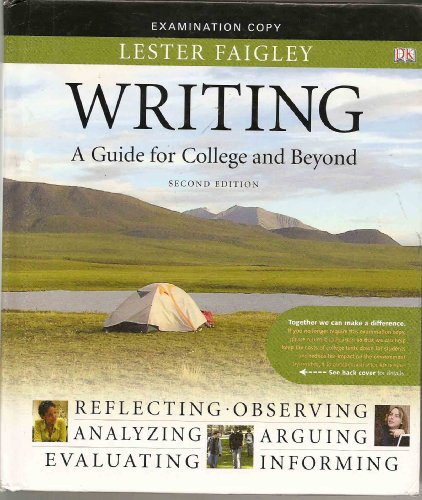 9780205703296: Writing: A Guide for College and Beyond