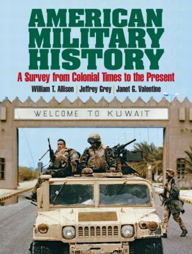 9780205704231: American Military History: A Survey From Colonial Times To The Present- (Value Pack w/MySearchLab)
