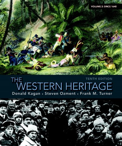 9780205705160: The Western Heritage: Volume 2 (10th Edition)