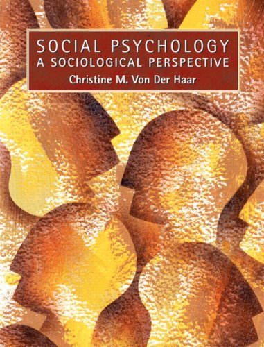9780205705245: Social Psychology: A Sociological Perspective- (Value Pack w/MySearchLab)