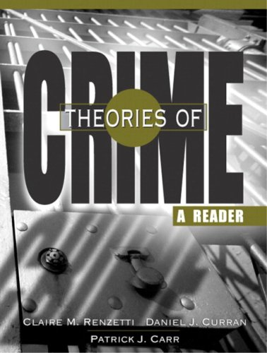 9780205705337: Theories Of Crime: A Reader- (Value Pack w/MySearchLab)