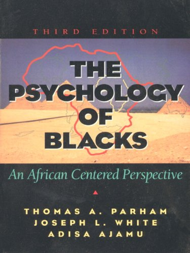9780205705511: The Psychology of Blacks Value Pack: An African Centered Perspective [With Access Code]