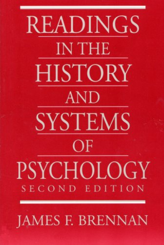 9780205705542: Readings in the History and Systems of Psychology