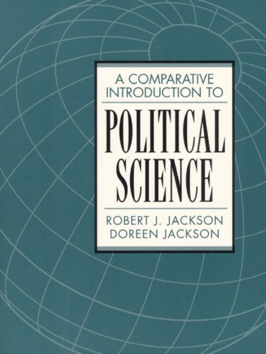 Comparative Introduction To Political Science- (Value Pack w/MySearchLab): Jackson, Robert J.;...