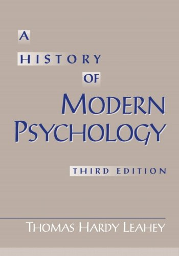 9780205706563: History Of Modern Psychology- (Value Pack w/MySearchLab) (3rd Edition)