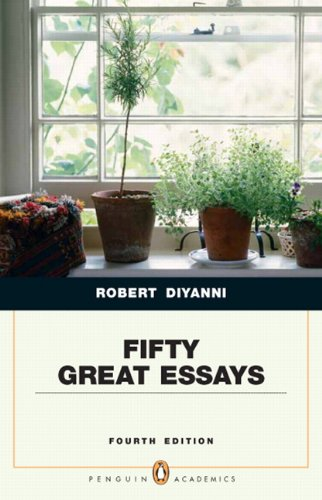 Fifty great essays 4th edition