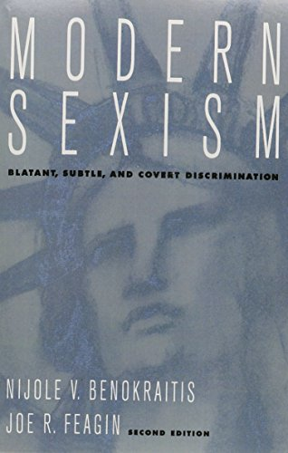 9780205706969: Modern Sexism: Blatant, Subtle and Covert Discrimination- (Value Pack w/MySearchLab)