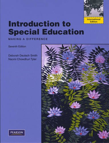 9780205707119: Introduction to Special Education:Making A Difference: International Edition
