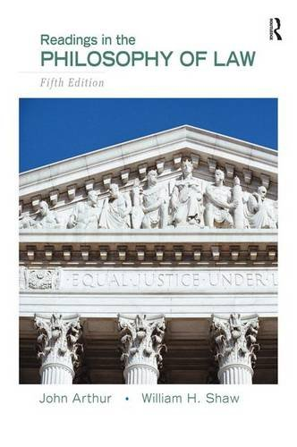 9780205708093: Readings in the Philosophy of Law
