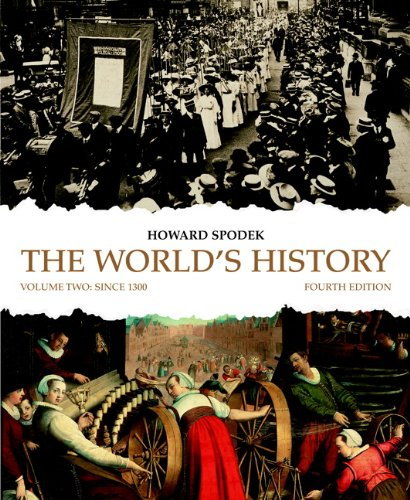 9780205708376: The World's History: Volume 2 (4th Edition)