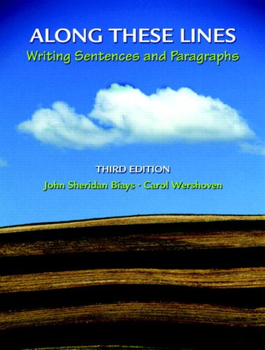 9780205708673: Along These Lines: Writing Sentences and Paragraphs (with MyWritingLab Student Access Code Card) (3rd Edition)