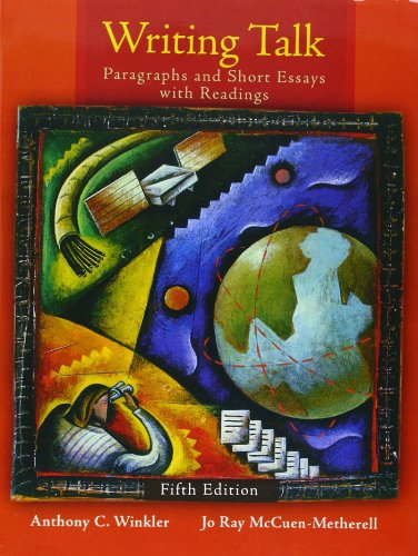 9780205708697: Writing Talk: Paragraphs and Short Essays with Readings [With Mywritinglab]