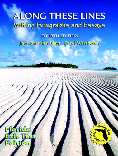 9780205708727: Along These Lines: Florida Edition (with MyWritingLab Student Access Code Card) (4th Edition)