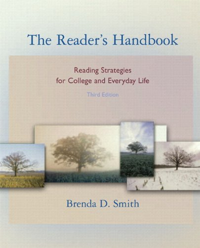 9780205709991: The Reader's Handbook: Reading Strategies for College and Everyday Life (MyReadingLab Student Access Code Card) (3rd Edition)