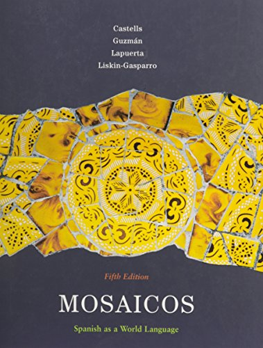 9780205710256: Mosaicos: Spanish as a World Language and Student Activities Manual for Mosaicos: Spanish as a World Language Package (5th Edition)