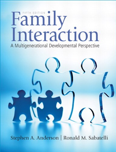 9780205710836: Family Interaction: A Multigenerational Developmental Perspective (5th Edition)
