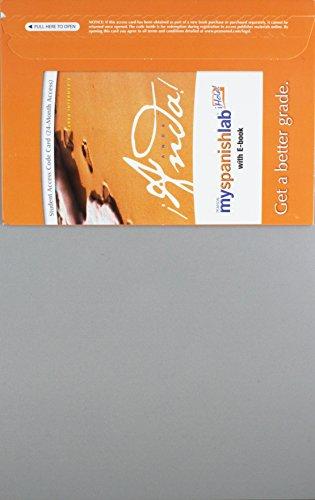 9780205710881: MySpanishLab with Pearson eText -- Access Card -- for ¡Anda!: Curso intermedio (multi semester access)