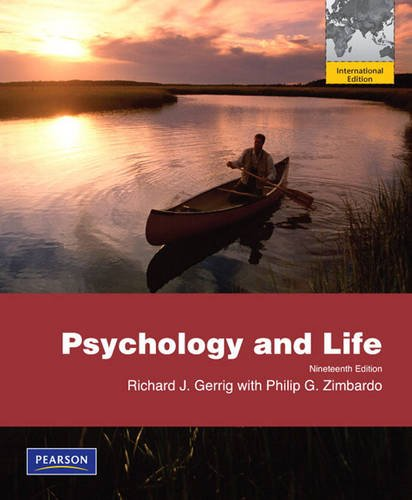 9780205710911: Psychology and Life. Richard Gerrig