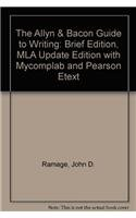 9780205711321: The Allyn & Bacon Guide to Writing: Brief Edition, MLA Update Edition with MyCompLab and Pearson eText (5th Edition)