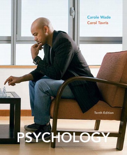 9780205711468: Psychology (10th Edition)