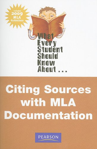 9780205715114: What Every Student Should Know About Citing Sources with MLA Documentation, Update Edition