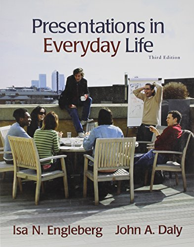 9780205715862: Presentations in Everyday Life with MySpeechLab and Pearson eText (3rd Edition)