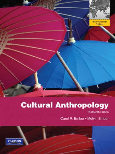9780205716173: Cultural Anthropology: International Edition