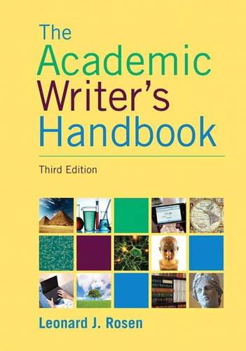 9780205717613: Academic Writer's Handbook (3rd Edition)