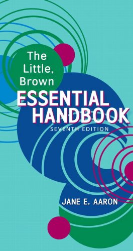 9780205718764: The Little, Brown Essential Handbook, 7th Edition