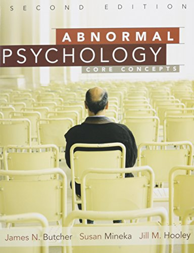 9780205720941: Abnormal Psychology: Core Concepts with MyPsychLab and Pearson eText (2nd Edition)
