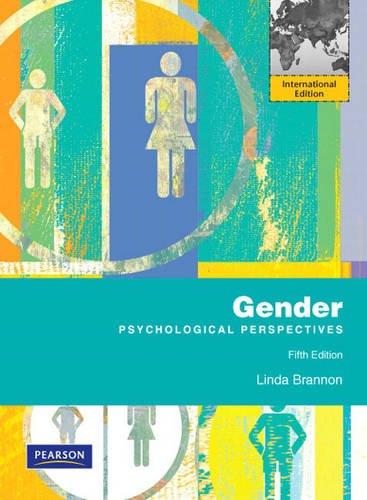 9780205722259: Gender: Psychological Perspectives