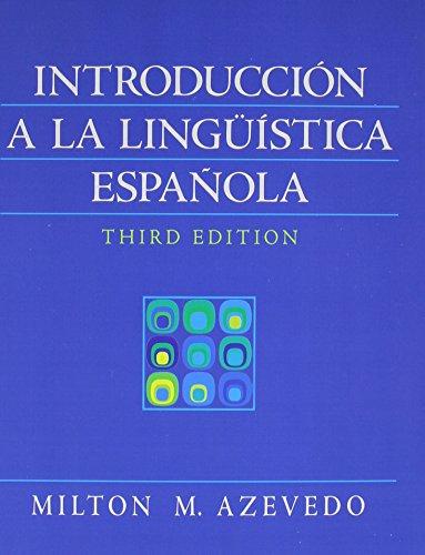 9780205723058: Introducción a la lingüística española with Student Workbook (3rd Edition)